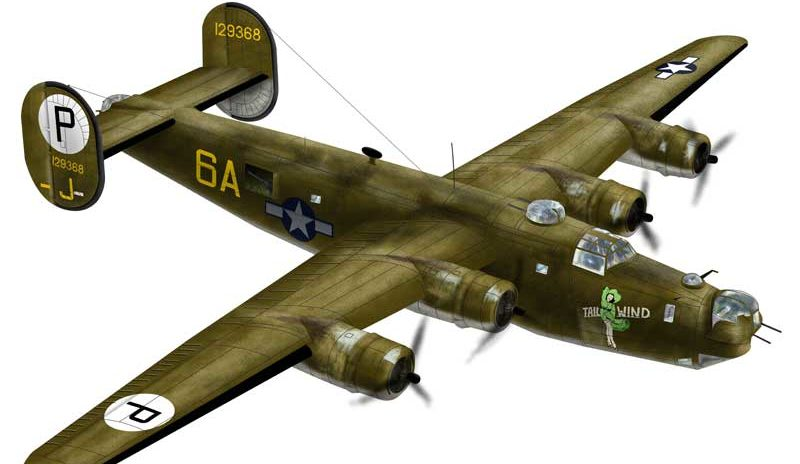 Bradic Srecko. Бомбардировщик В-24.