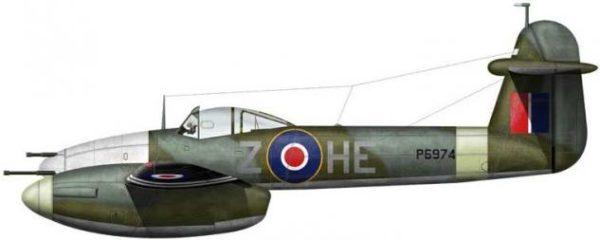 Bradic Srecko. Истребитель Westland Whirlwind Mk.I.