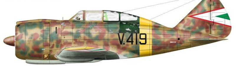 Bradic Srecko. Истребитель Reggiane 2000.