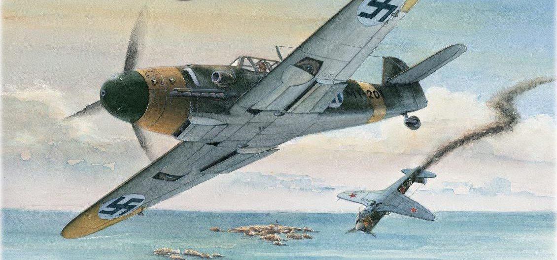 Gripenberg Sture. Истребитель Ilmavoitto 34.