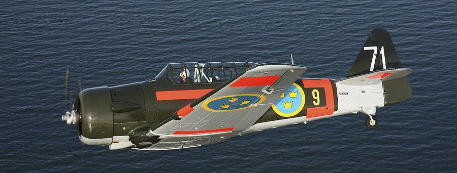 Karlsson Daniel. Учебный самолет T-6 Texan.