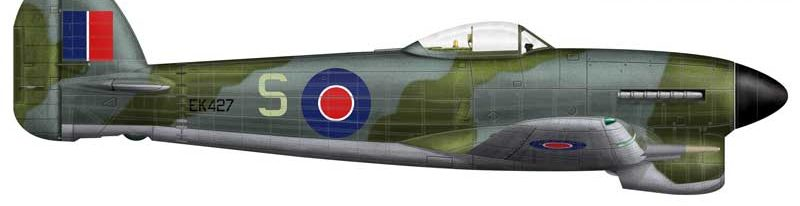 Bradic Srecko. Истребитель Hawker Typhoon.