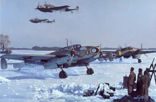 Hamilton Alex. Истребитель Bf -110 E2.