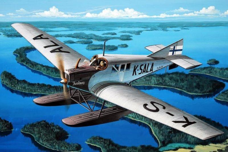 Frka Danijel. Гидросамолет Junkers F.13.