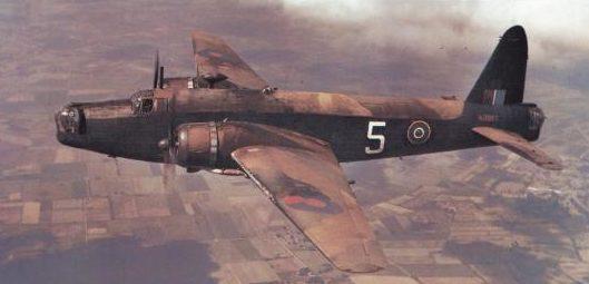 Bradic Srecko. Бомбардировщик Vickers Wellington.