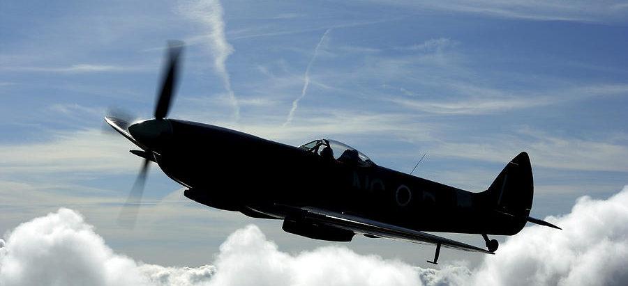 Karlsson Daniel. Истребитель Supermarine Spitfire Mk.XVI.