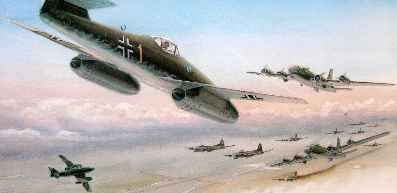 Gripenberg Sture. Реактивный истребитель Ме-262.