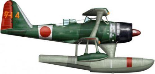 Bradic Srecko. Гидросамолет Mitsubishi F-1M.