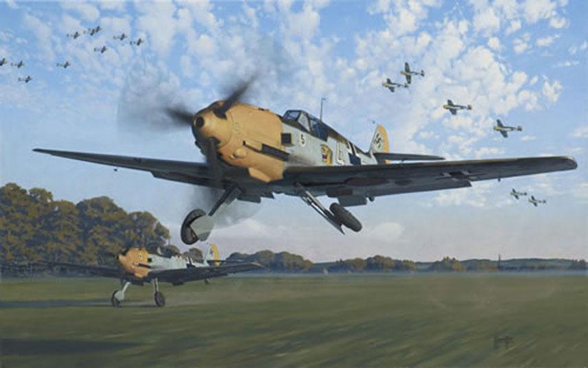 Hamilton Alex. Истребитель Bf -109 Е4.