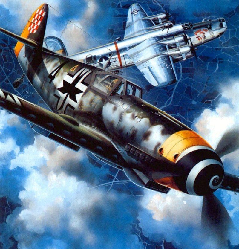 Frka Danijel. Истребитель Bf-109G.