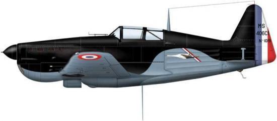 Bradic Srecko. Истребитель Morane Saulnier MS. 406.