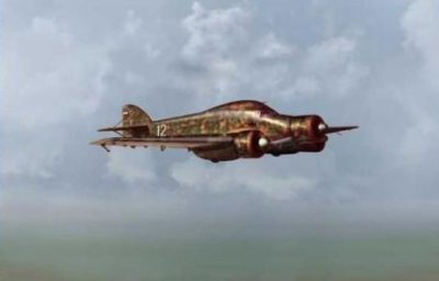 Bradic Srecko. Истребитель Savoia Marchetti SM-79.