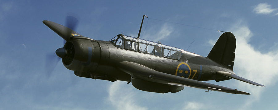 Karlsson Daniel. Бомбардировщик Saab B-17.