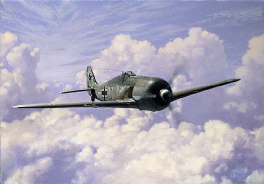 Hamilton Alex. Истребитель Focke Wulfe 190.