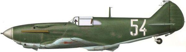 Bradic Srecko. Истребитель ЛаГГ-3.