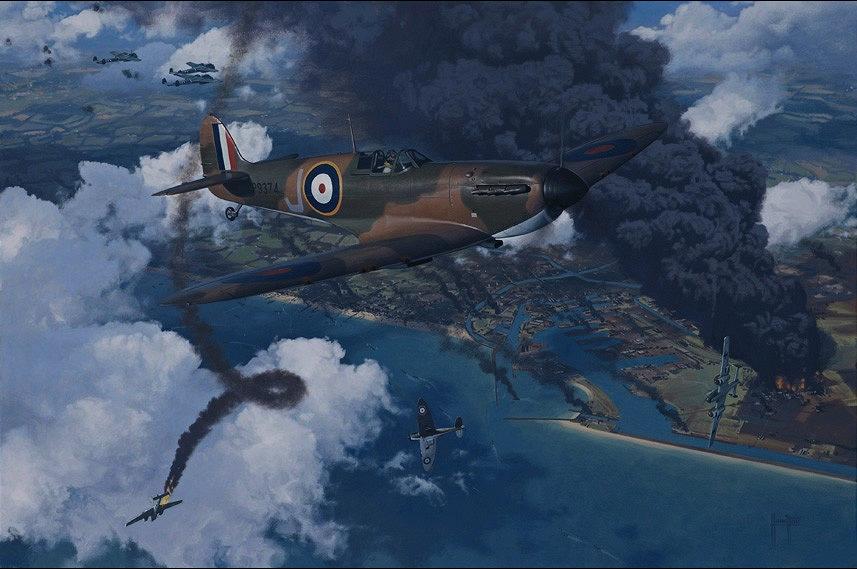 Hamilton Alex. Истребитель Supermarine Spitfire Mk.I.