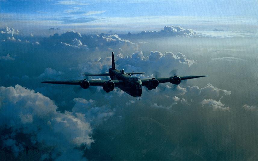 Hamilton Alex. Бомбардировщик Avro Lancaster В-1.