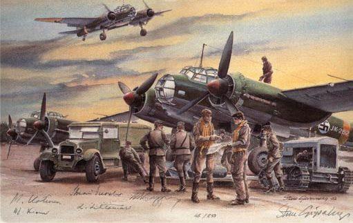 Gripenberg Sture. Бомбардировщик Ju-88 A-4.