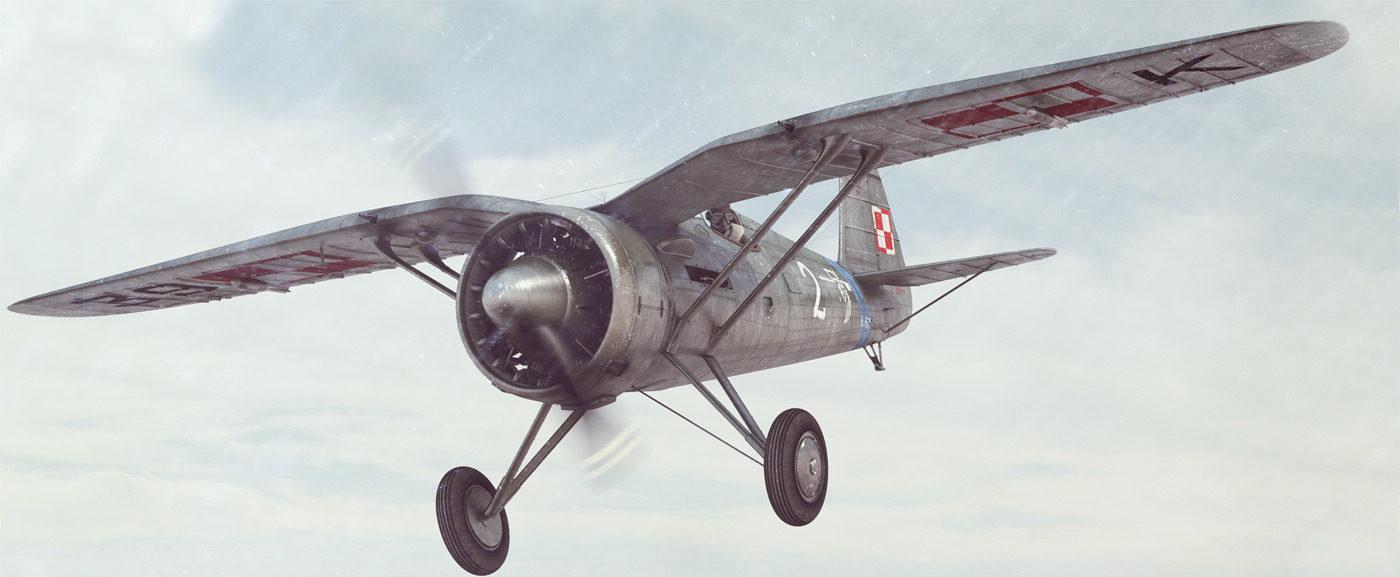 Lejczak Anders. Истребитель PZL P11c.