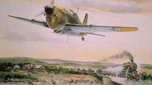 Gripenberg Sture. Истребитель Morane Saulnier MS 406.
