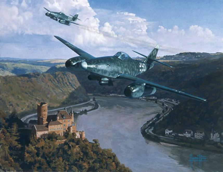 Hamilton Alex. Истребитель Me-262 A-2a.