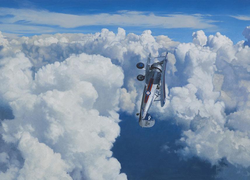 Hamilton Alex. Истребитель Gloster Gladiator II.