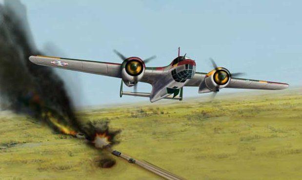 Bradic Srecko. Бомбардировщик Do-17K.