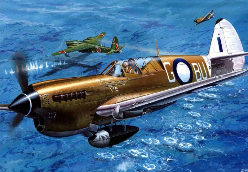 Frka Danijel. Истребитель P-40N «Curtiss».