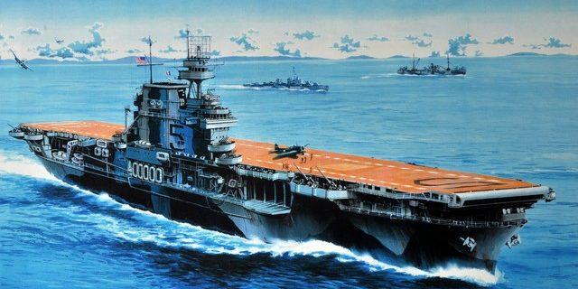 Frka Danijel. Авианосец «Yorktown».