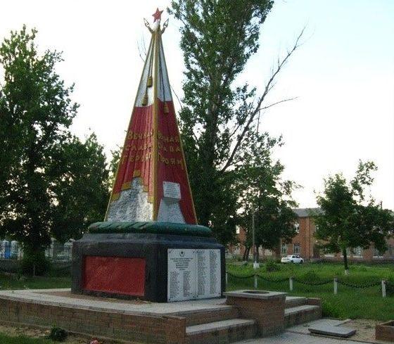 п. Андреевка Балаклейского р-на. Братская могила советских воинов