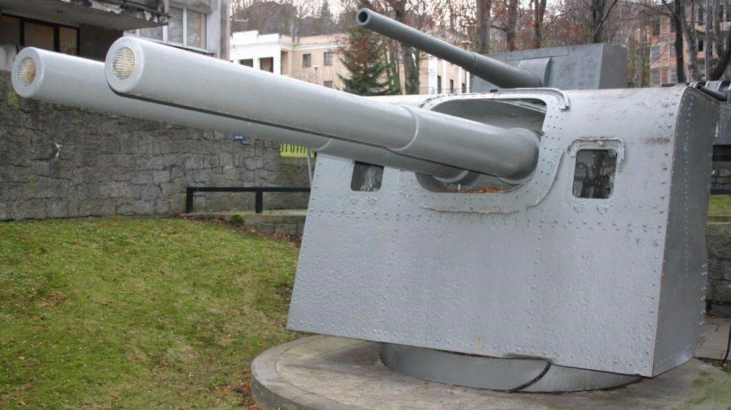 Корабельное орудие Bofors WZ. 34/36