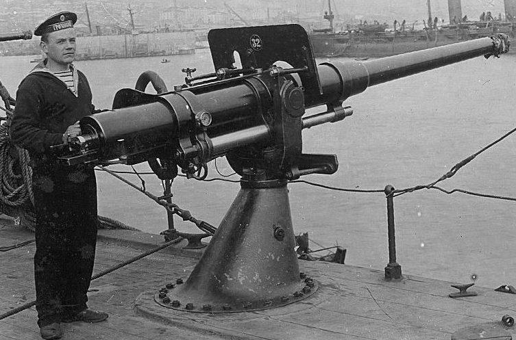 75-мм корабельное орудие Канэ