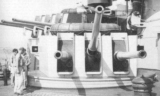 Корабельное орудие 135-mm/45 Models 1937