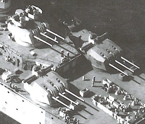 Корабельное орудие  152-mm/55 Modèle 1930