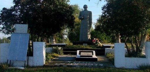 с. Яворское Балаклейского р-на. Общий вид мемориала
