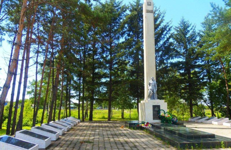 с. Серышево Серышевского района. Памятник участникам войны
