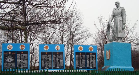 с. Нижнее Соленое Боровского р-на. Памятник установлен на братской могиле, в которой похоронено 8 воинов, погибших в боях за село. На памятном знаке размещены мемориальные доски с именами односельчан, не вернувшихся с войны