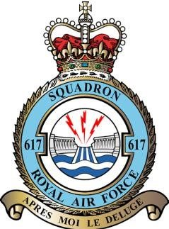 Герб 617-й эскадрильи