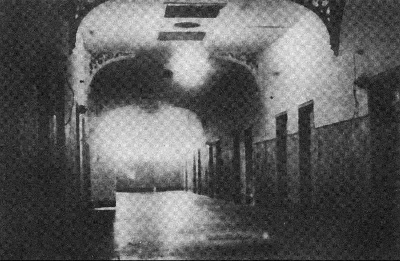 Коридоры тюрьмы Шпандау