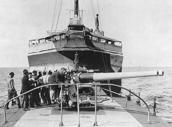 """Корабельное орудия 4""""/50"""