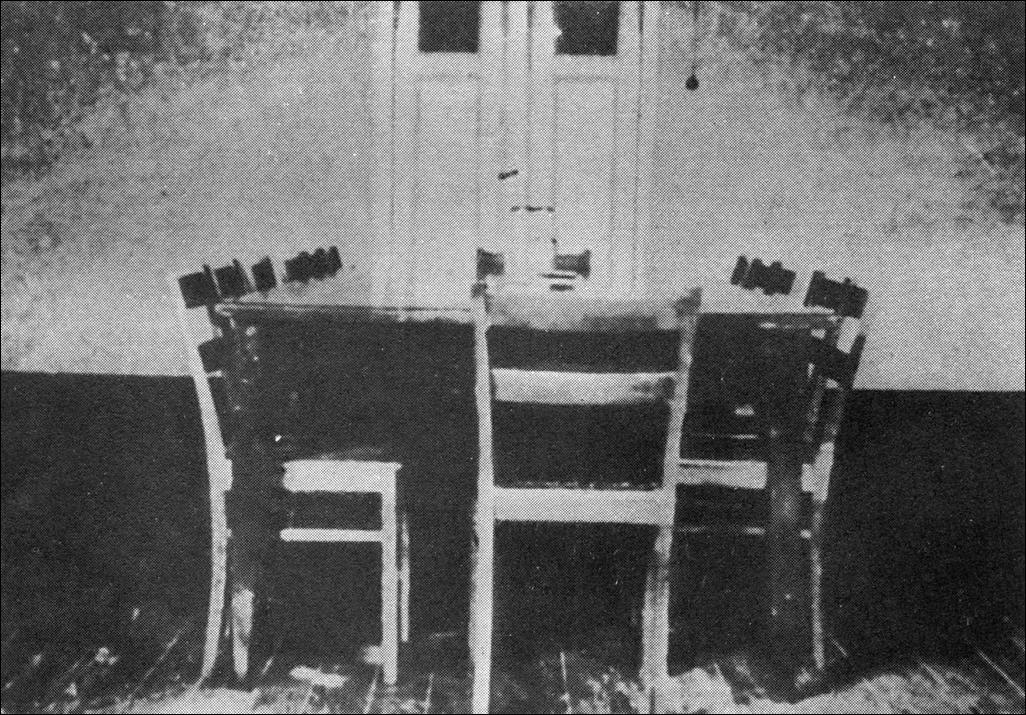 Комната, где проводились совещания у начальника тюрьмы