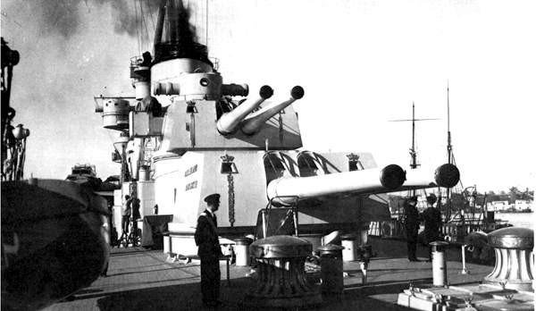 корабельное орудие «Cannone da 203/53 Ansaldo».