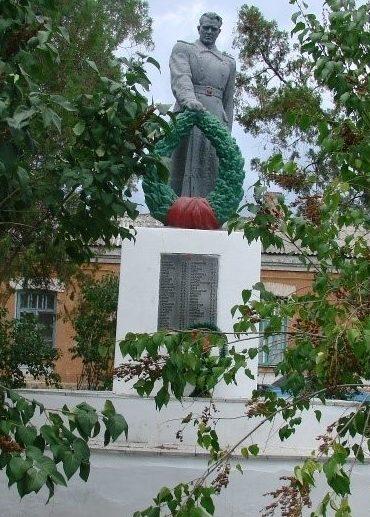 г. Балаклея. Памятник на братской могиле