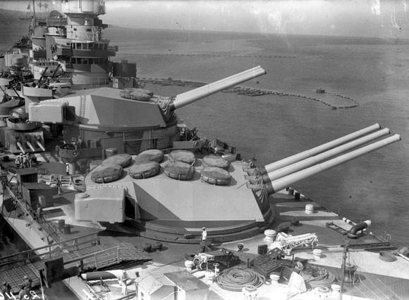 Корабельное орудие 381-mm / 50 Model 1934/1939