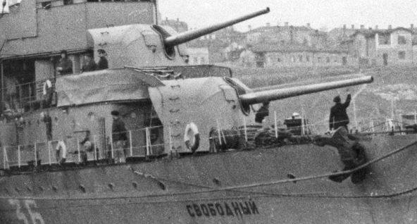 Корабельное орудие 130-мм/50 Б-13 образца 1936 г.