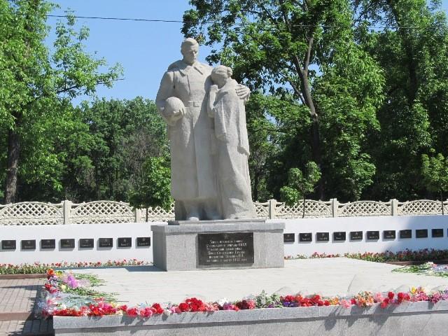 Памятник воинам 17 стрелковой бригады НКВД на пересечении улицы Рыбалко и бульвара Богдана Хмельницкого, установлен в 2012 году на братской могиле, в которой похоронены 82 воина этой бригады.