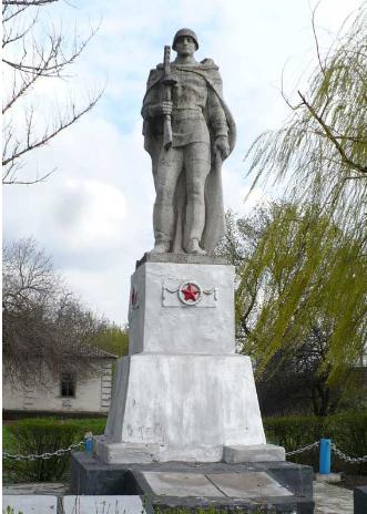 п. Гусаровка Барвенковского р-на. Памятник в центре села, установлен на братской могиле, в которой похоронено 120 воинов, среди которых и Витин В.К. – Герой Советского Союза.