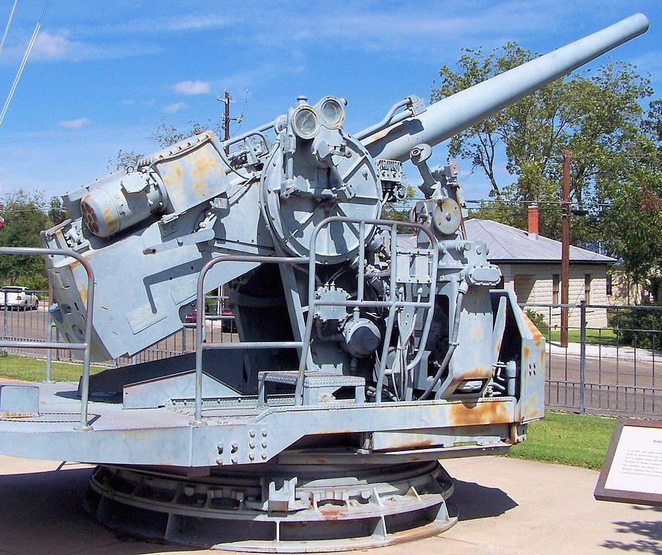 Одноорудийная  палубная установка Mk-21