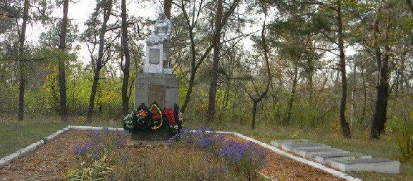г. Балаклея. Общий вид братской могилы