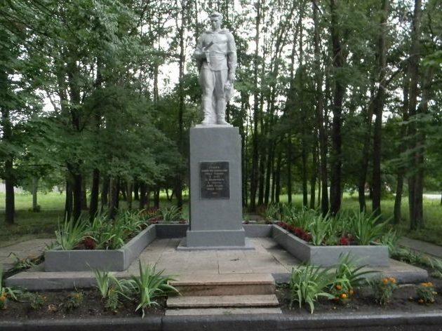 Памятник «Героям, павшим при освобождении Харькова» на проспекте Московский, 299
